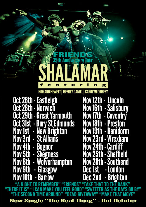 Shalamar UK Tour 2017